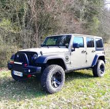 Parechoc avant Mopar 10th lesbumper Jeep swrangler jk  ubar