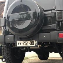 Echappement clapet Jeep Wrangler JK