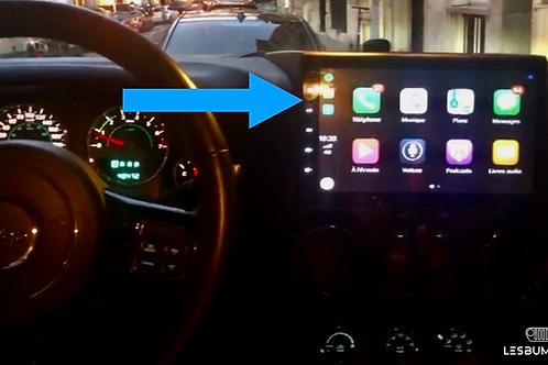 Apple CarPlay Jeep Wrangler JK - Android