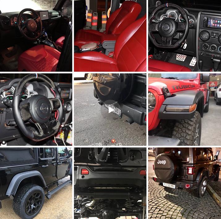 Nos réalisations les bumper.fr jeep wran