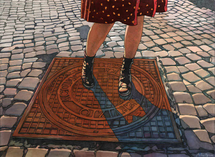 HYMAN : Rome, walking in the city