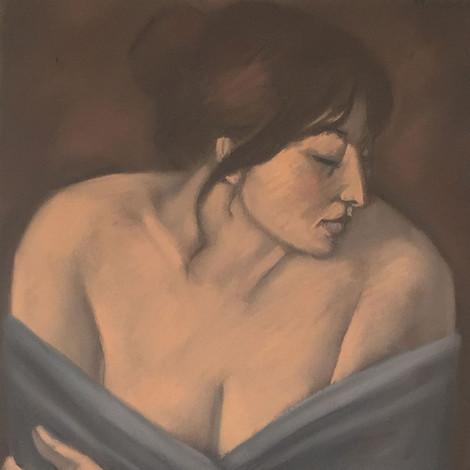 OTERO : Éva, les épaules dénudées