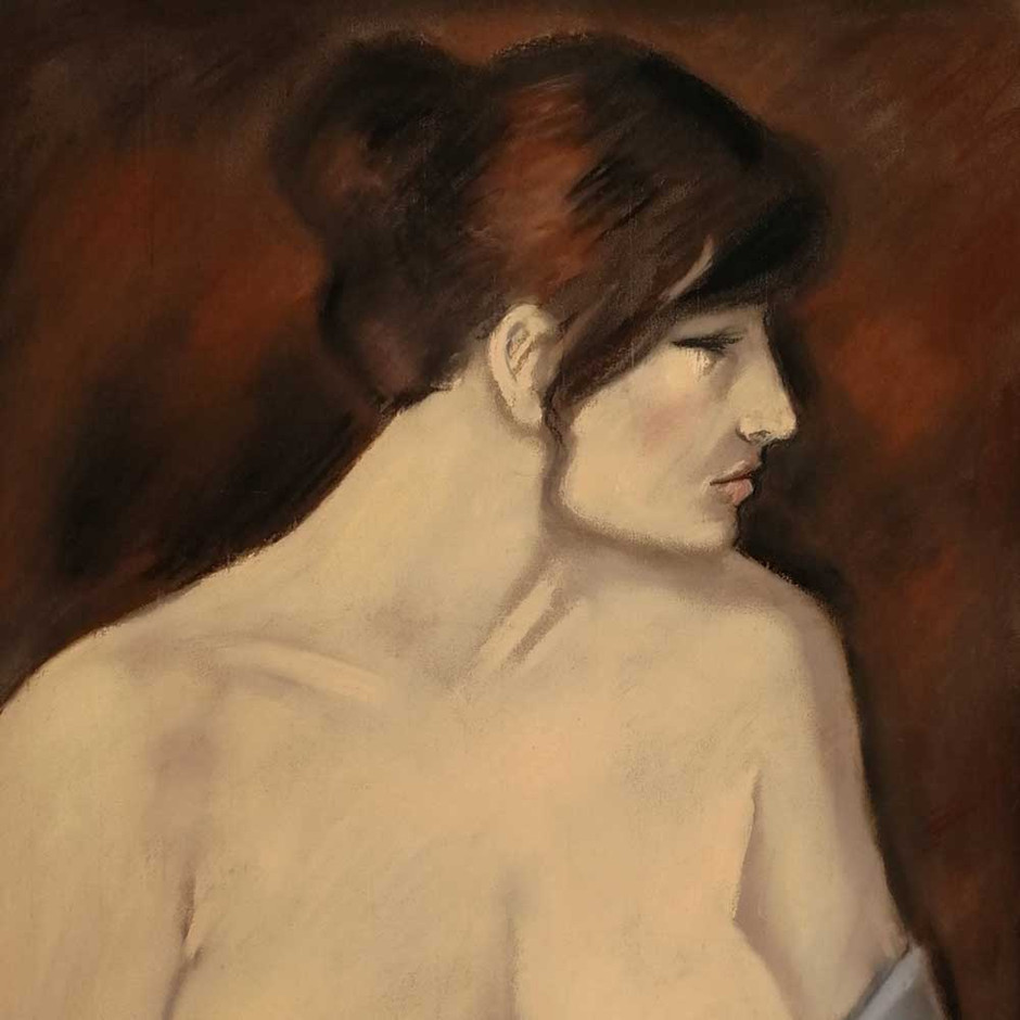 OTERO : Éva, la poitrine dénudée
