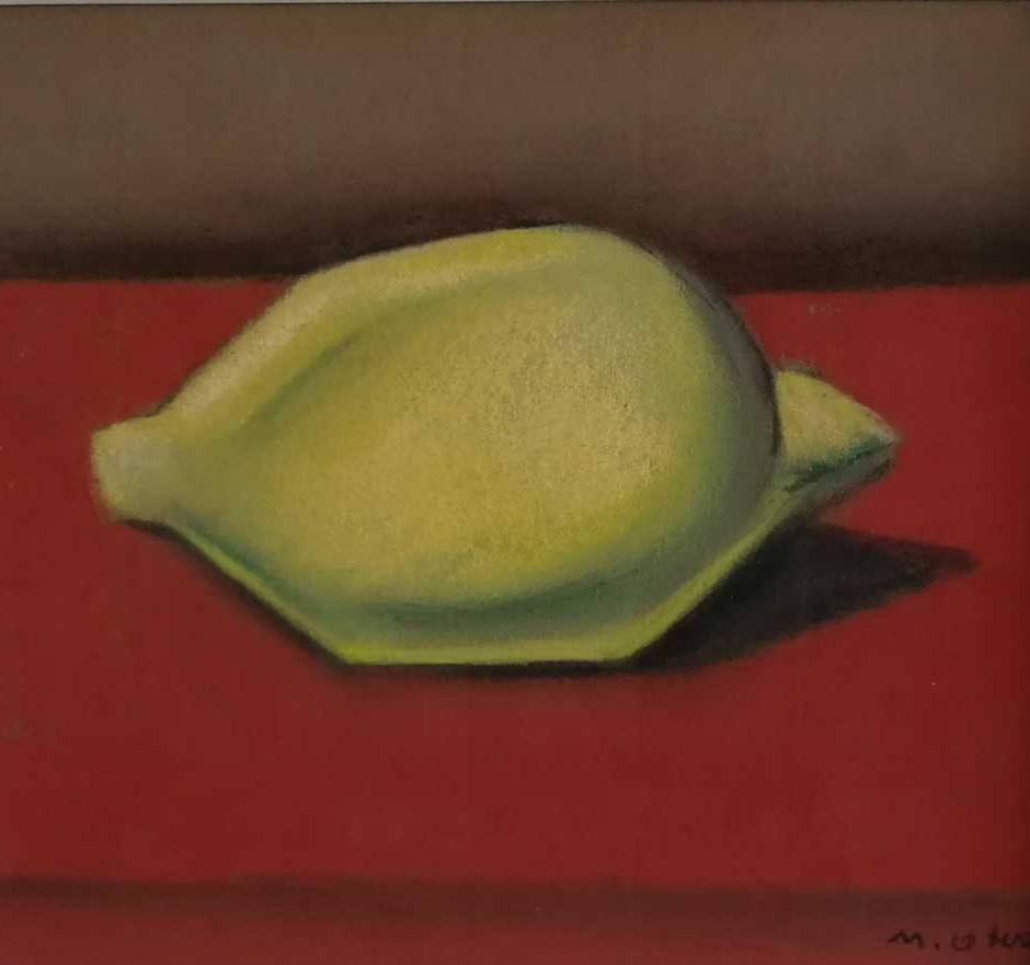 OTERO : Nature morte au Citron