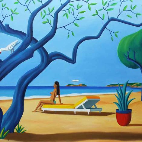 LOUSTAL : Bleue trees