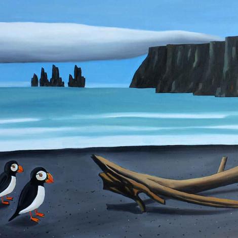 LOUSTAL : Macareux d'Islande