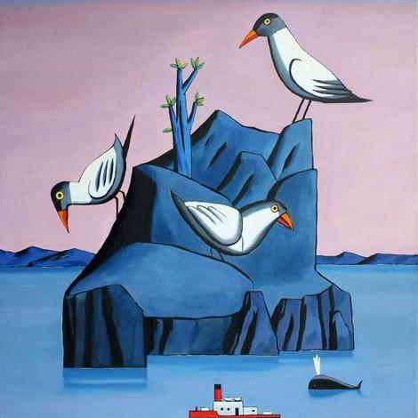 LOUSTAL : L'île bleue