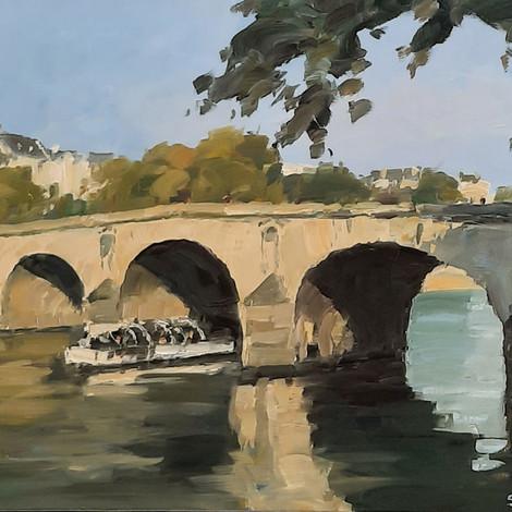 RUAIS : Le pont Marie, Paris