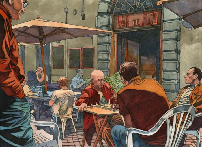 HYMAN : Rome, Bar del Fico