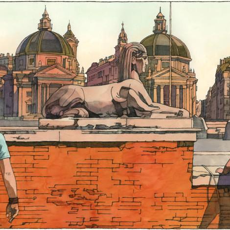 HYMAN : Rome, Piazza del Popolo