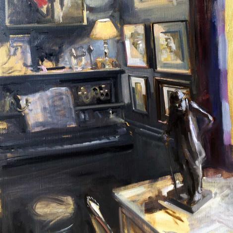 DEBUSSCHERE :  Le piano et Clémenceau