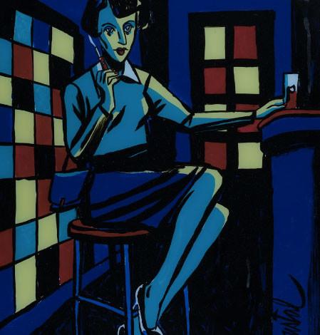 LOUSTAL : Blue bar