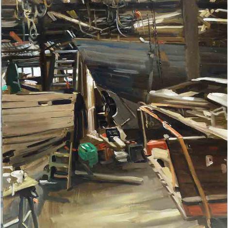 DEBUSSCHERE :  Le chantier naval de la Passagère