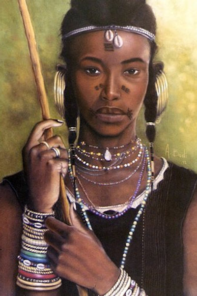 Wodabe Woman
