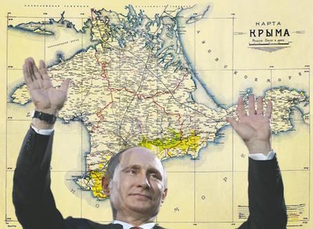 First we take Crimea, then we take Brighton Beach (and then Alaska?)