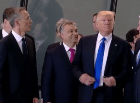 President Trump in Europe: how to discredit and dismantle an Alliance
