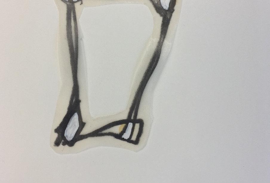 """DUCKWITZ, Jochen: """"2. Versuch, ein Quadrat herzustellen"""" (1992)"""