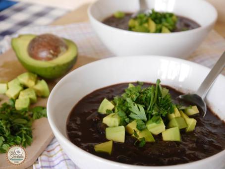 Sopa de Frijol Negro