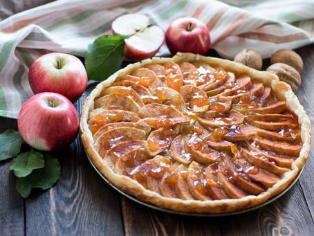 Tartaleta de Queso y Manzana/Apple Cheese Pie