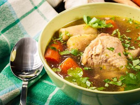 Caldo de Pollo a la mexicana/Mexican Chicken Soup