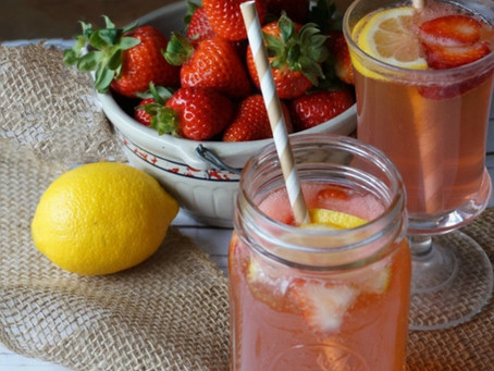 Coctel de Fresas con Lemon
