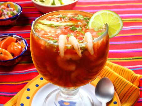 Coctel de Camarones Mexicano