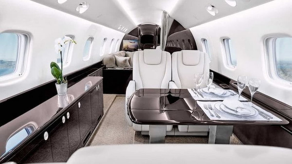 Top Jet Aircraft to Charter
