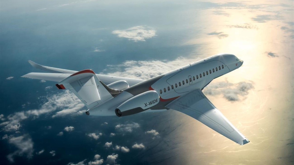 Falcon 10X - The Best is Yet To Come With This Ultra-Long Range Private Jet