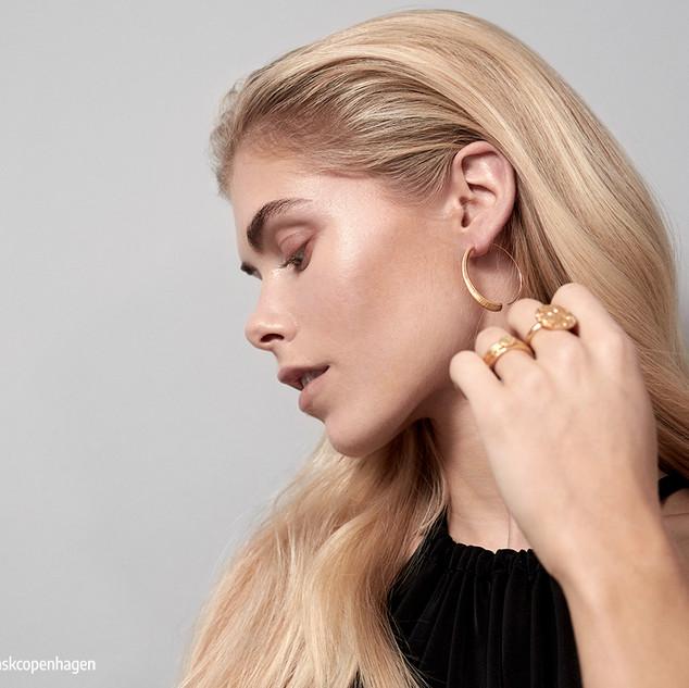 Ohrringe earring gold