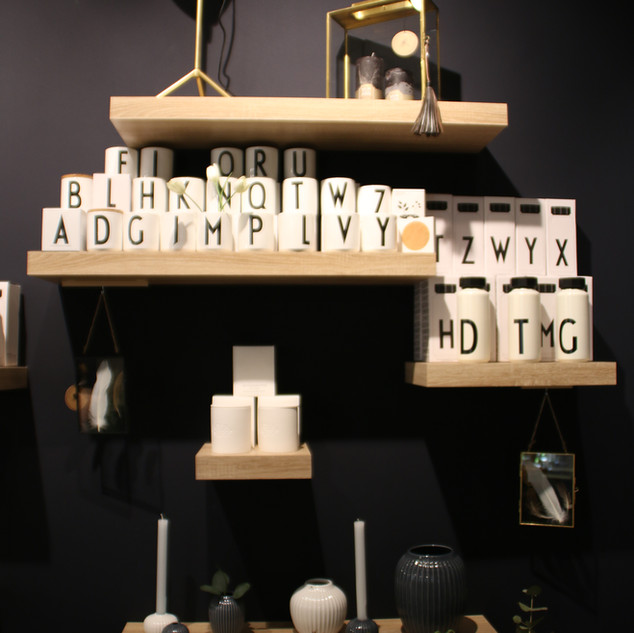 Design Letters weiß