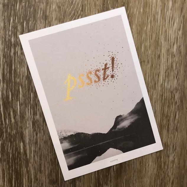 Postkarte Typealive