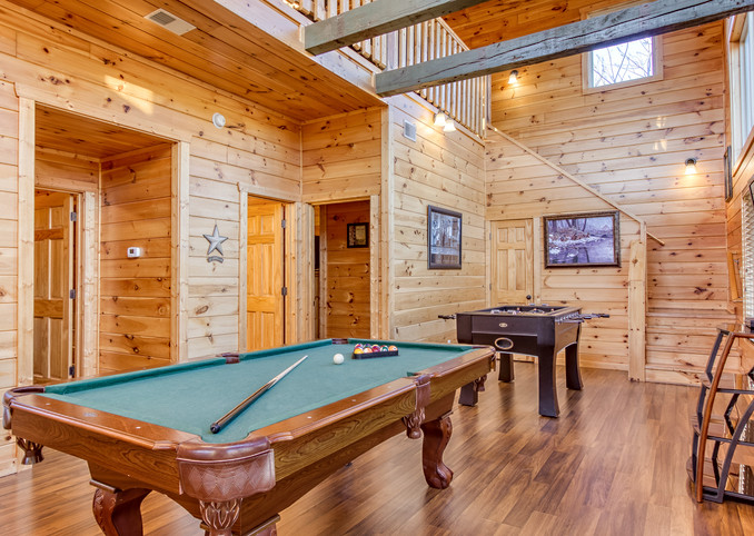 Foosball and Pool Tables