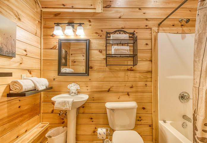 En-Suite Full Bathroom Lower Level