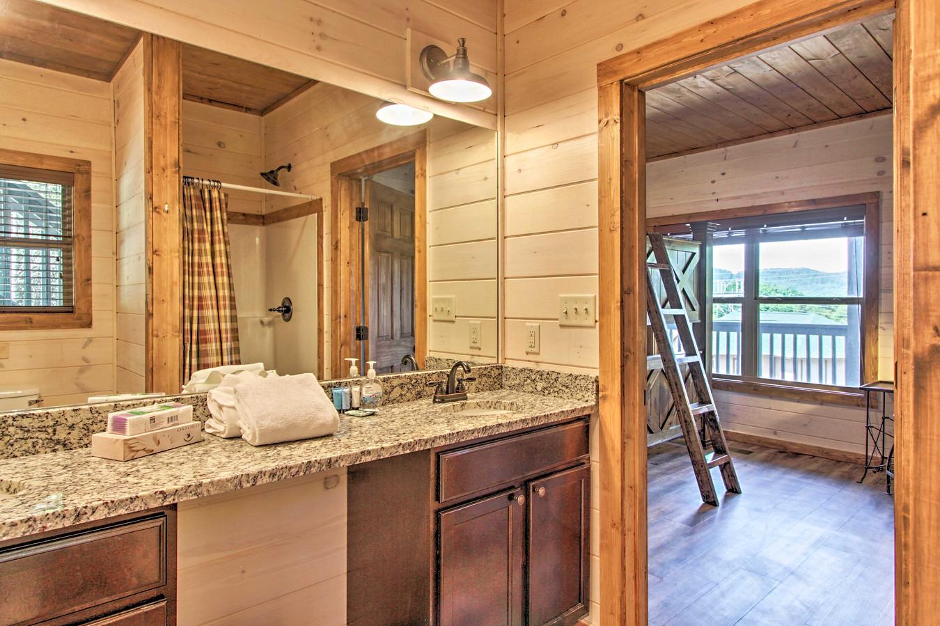 Bedroom 3 en-suite bathroom 2nd floor