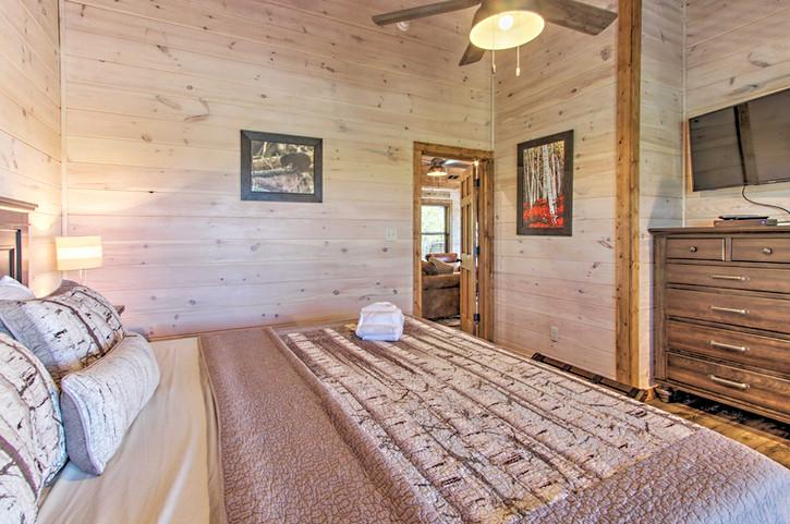 Master bedroom 6 king bed 3rd floor