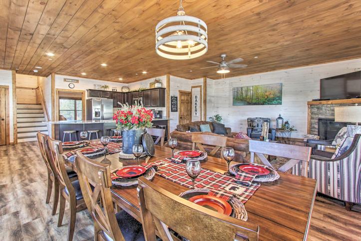 Dining area main floor