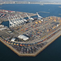 Pier E Container Yard-Intermodel Railyard, Phase 3