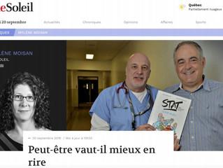 Peut-être vaut-il mieux en rire - StatComics dans le journal LeSoleil