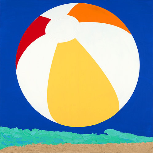 Single Beach Ball