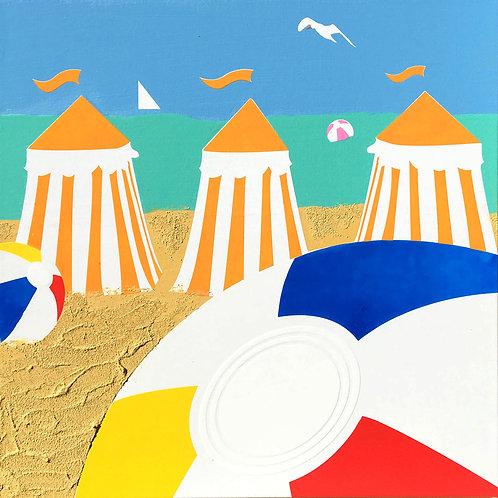Orange Cabanas