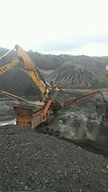 Eagle Mobile Crusher at work