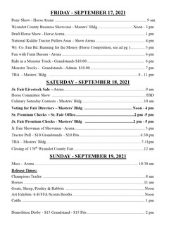 2021 Fair Schedule pg3