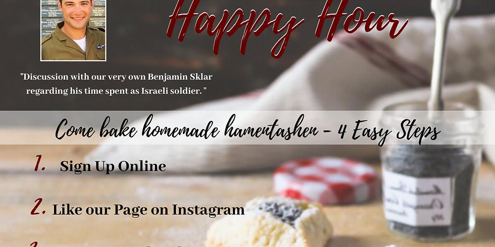 Hamentashen and Happy Hour