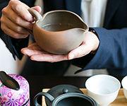 おいしいお茶の淹れ方を体験