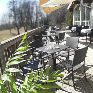 New Patio seating