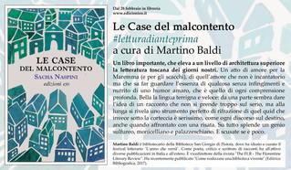 """#lettoinanteprima - """"LE CASE DEL MALCONTENTO"""", RECENSIONE DI MARTINO BALDI"""
