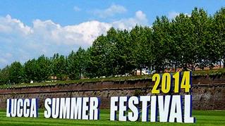 LUCCA SUMMER 2014 – 5 CONCERTI