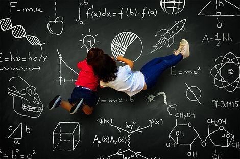 Kids on the black board.jpg