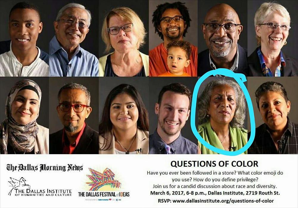 Questions Of Color Participants
