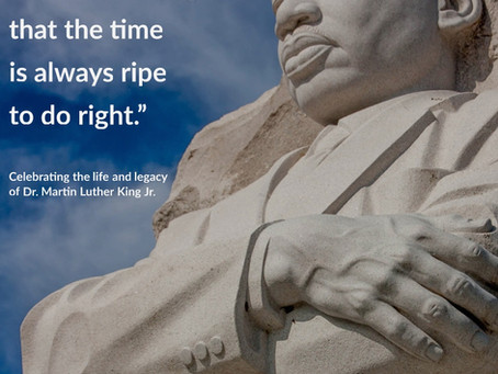 Things You Can Do Right Now to Continue Dr. King's Legacy